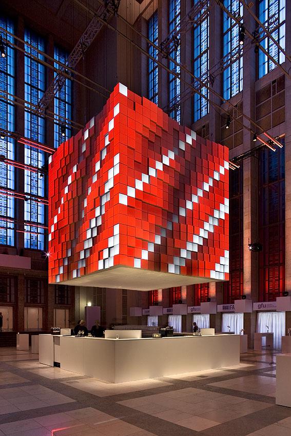 Cubus Berlin telematique visomat inc installation cubus ifa gala 2008